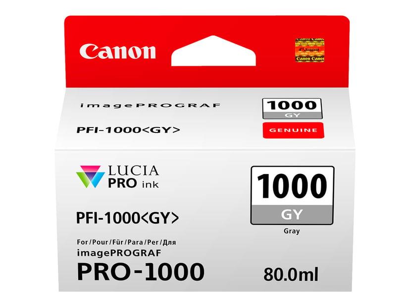 Canon Bläck Grå PFI-1000 GY - IPF-1000