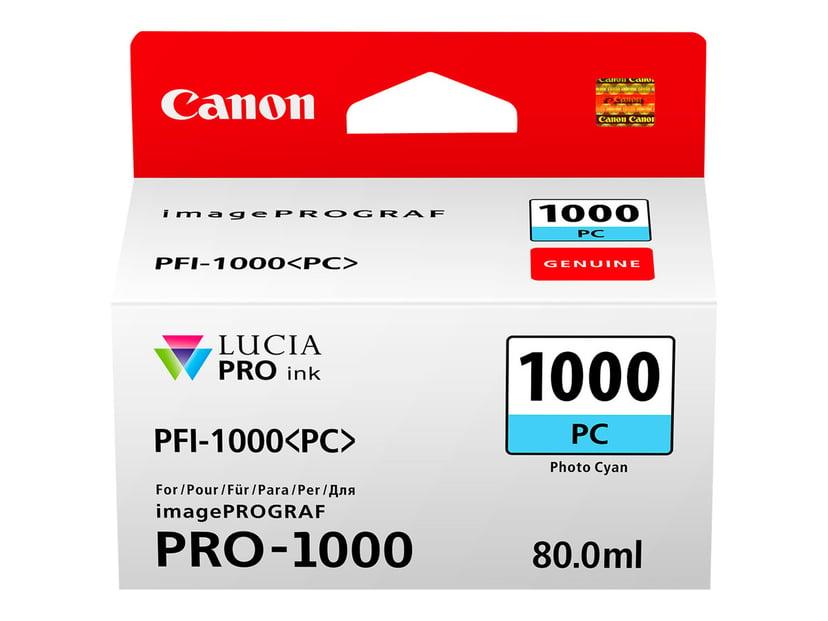 Canon Bläck Foto Cyan PFI-1000 PC - IPF-1000