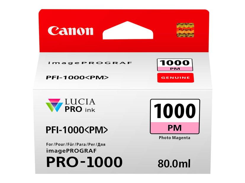 Canon Blekk Foto Magenta PFI-1000 PM - IPF-1000