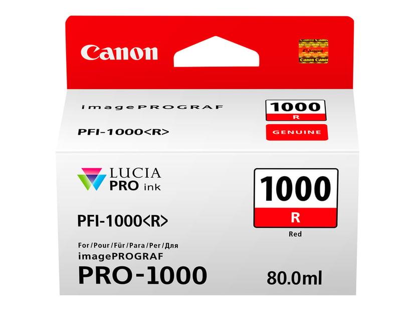 Canon Blekk Rød PFI-1000 R - IPF-1000