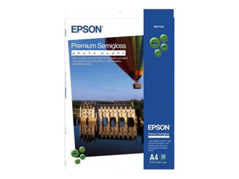 Epson Papir Photo Premium Semi Glossy A2 25-Ark 250g