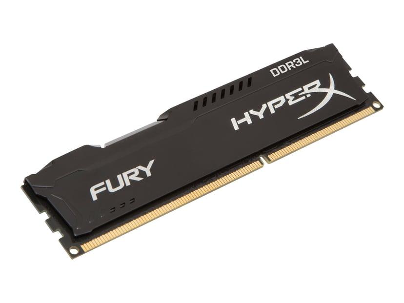 Kingston HyperX FURY 8GB 1,600MHz DDR3L SDRAM DIMM 240-pin