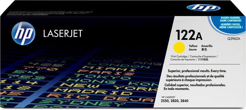 HP Värikasetti Keltainen - Q3962A