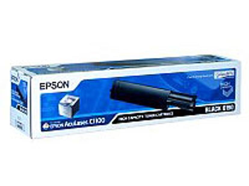 Epson Värikasetti Musta 3k - EPL-6200