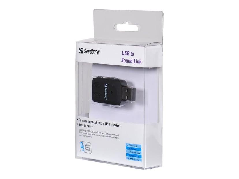Sandberg USB To Sound Link Äänikortti