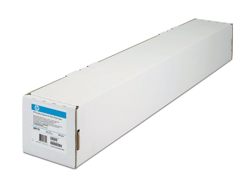 "HP Papir Everyday Glossy Photo 36"" Rulle 235g"