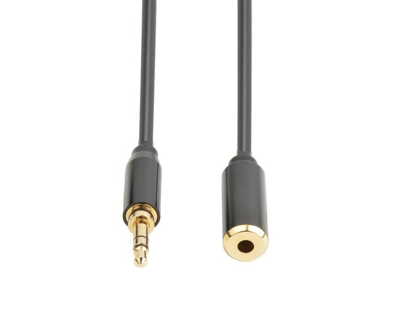 Prokord Äänikaapeli 10m Mini-phone stereo 3.5 mm Uros Mini-phone stereo 3.5 mm Naaras