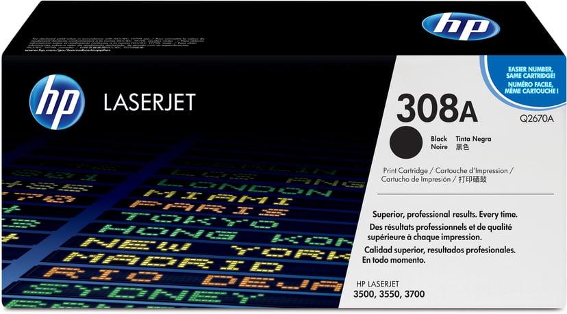 HP Toner Sort - CLJ 3500/3700