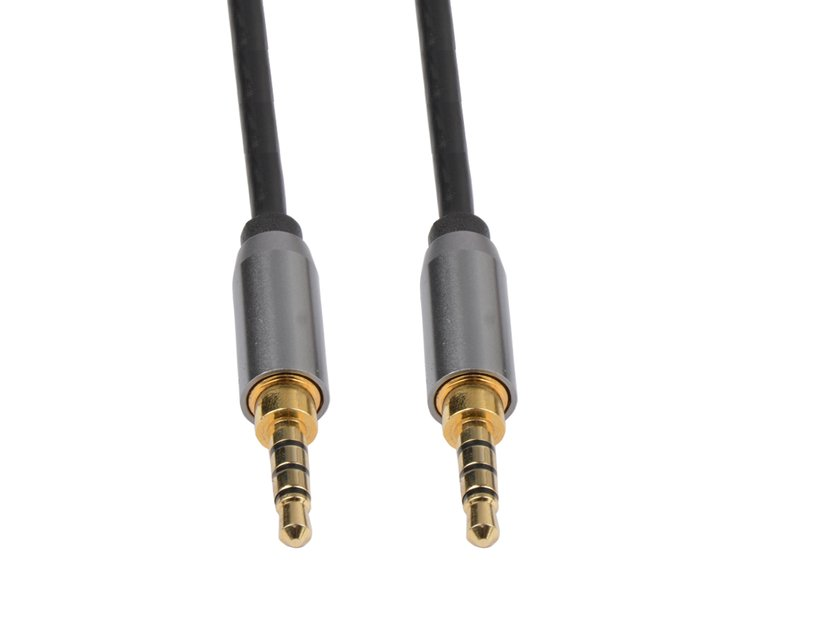 Prokord Äänikaapeli 3m Mini-phone stereo 3.5 mm Uros Mini-phone stereo 3.5 mm Uros