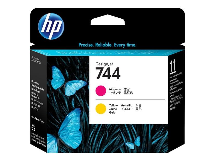 HP Skrivarhuvud No.744 Magenta & Gul - Z2600/Z5600