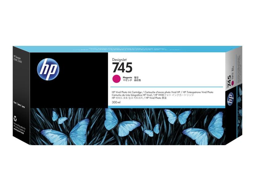 HP Blekk Magenta No.745 300ml - Z2600/Z5600