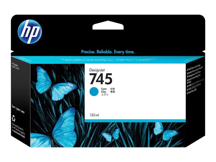 HP Blekk Cyan No.745 130ml - Z2600/Z5600