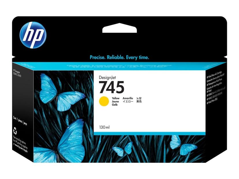 HP Bläck Gul No.745 130ml - Z2600/Z5600