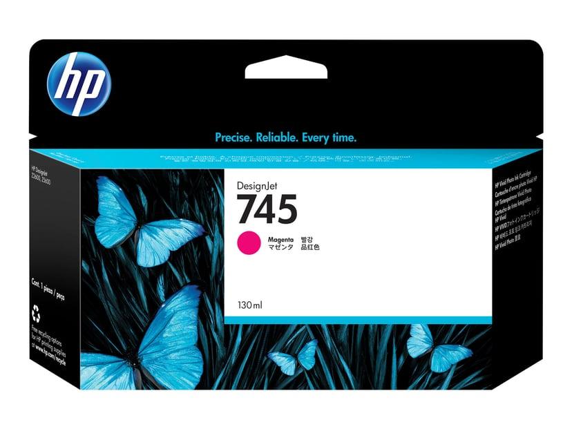 HP Blekk Magenta No.745 130ml - Z2600/Z5600