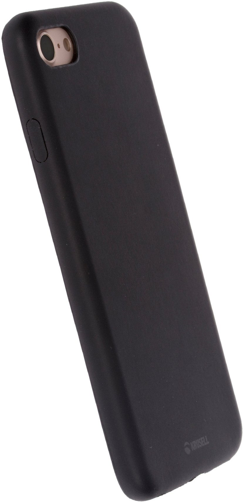Krusell Bellö baksidedeksel for mobiltelefon iPhone 7; iPhone 8 Svart