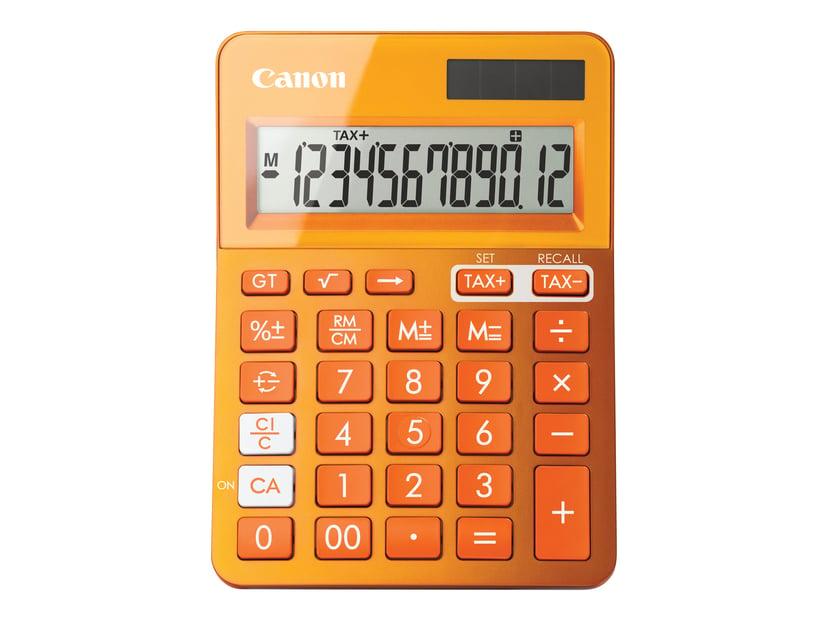 Canon Kalkulator LS-123K-MOR Metallic Oransje