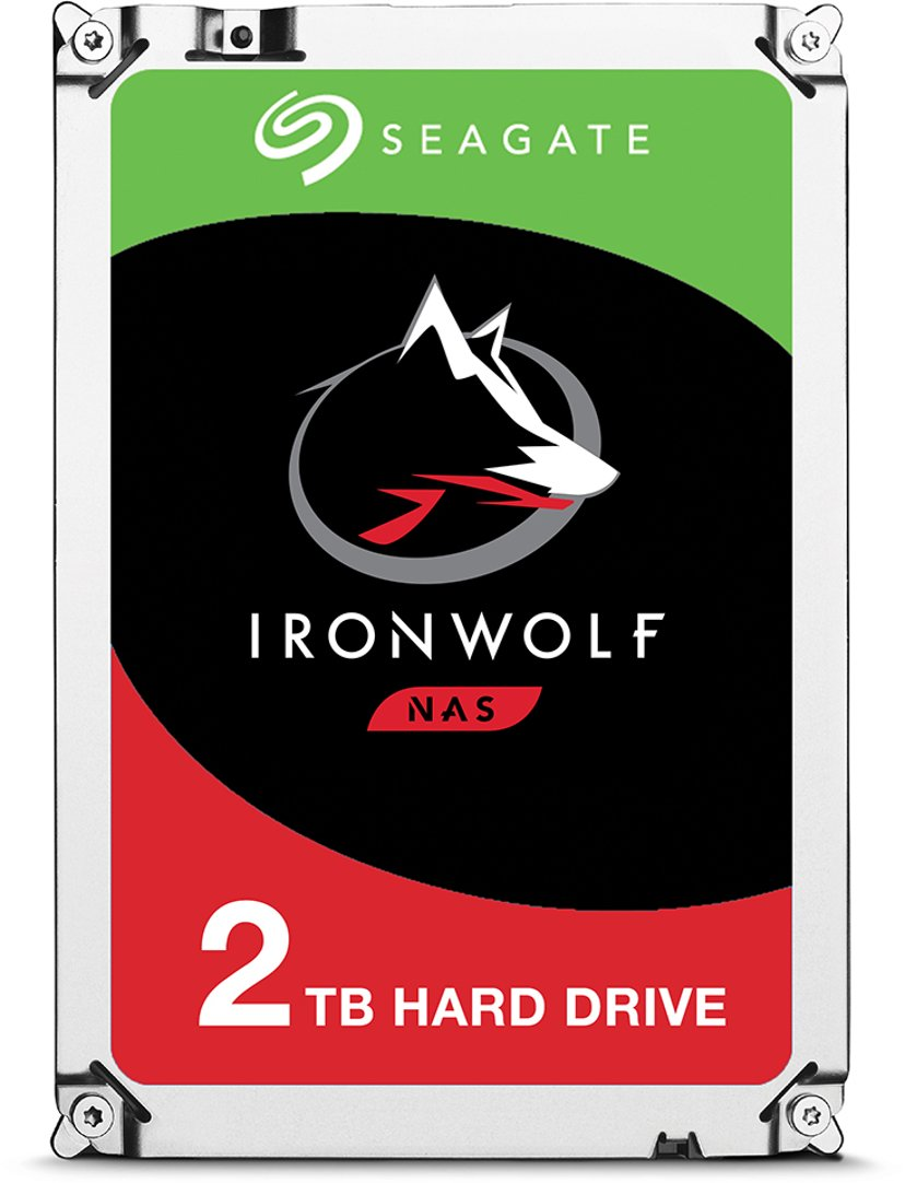 "Seagate IronWolf 2TB 3.5"" Serial ATA-600"