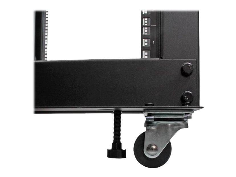 Startech 12U Adjustable Depth Open Frame 4 Post Server Rack
