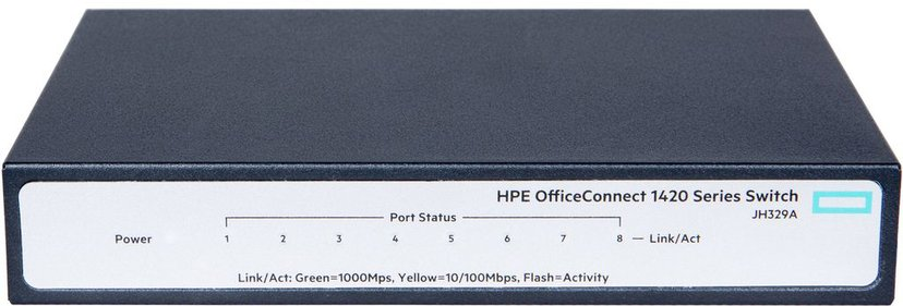 HPE OfficeConnect 1420 8xGbit, Un-mgd Switch