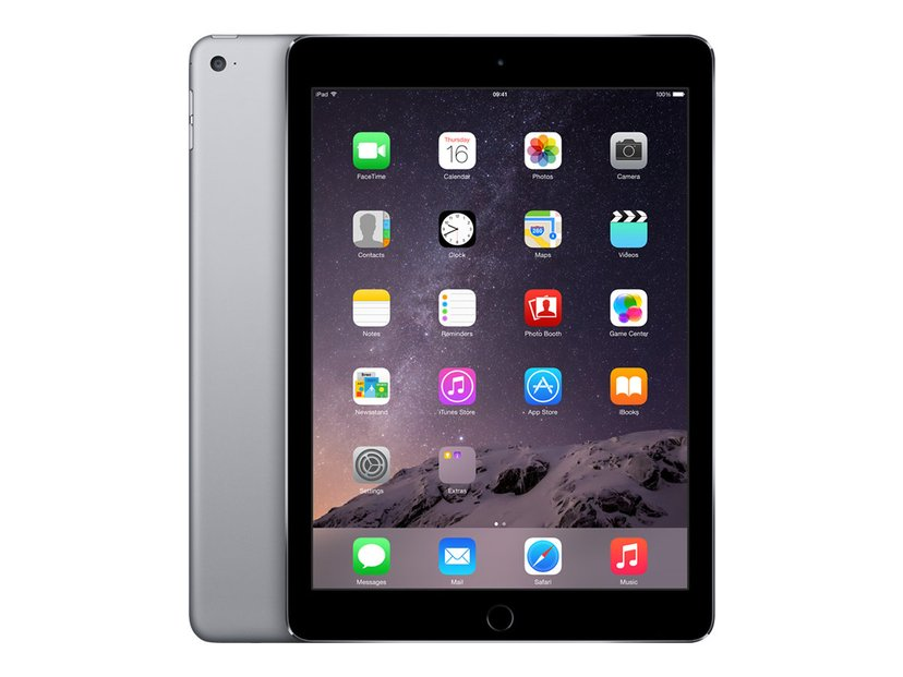 """Apple iPad Air 2 Wi-Fi 9.7"""" A8x 32GB Romgrå"""