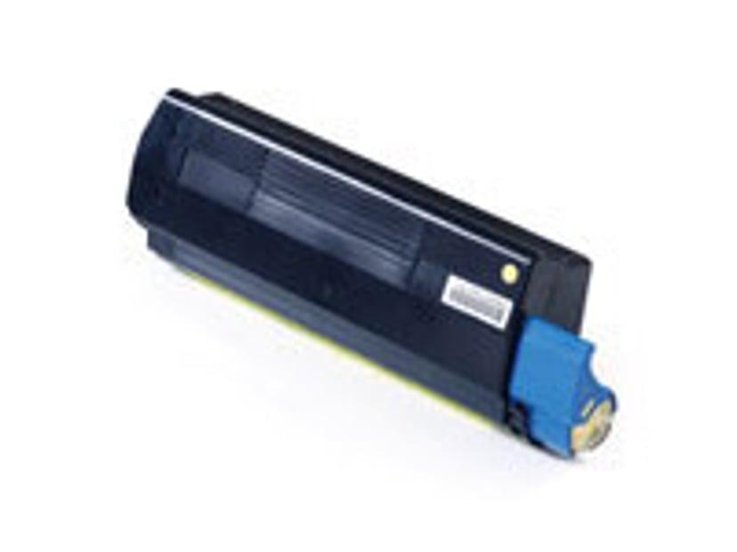 OKI Värikasetti Keltainen 5k - C5100/C5400