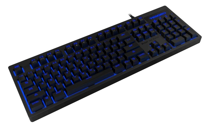 Tesoro Excalibur v2 Kablet Tastatur Nordisk Svart