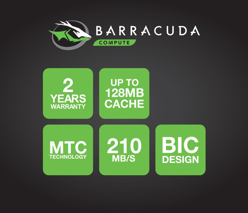 "Seagate BarraCuda 5TB 2.5"" Serial ATA-600"