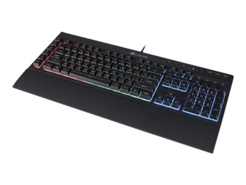 Corsair Gaming K55 RGB Tastatur Kablet Nordisk Svart