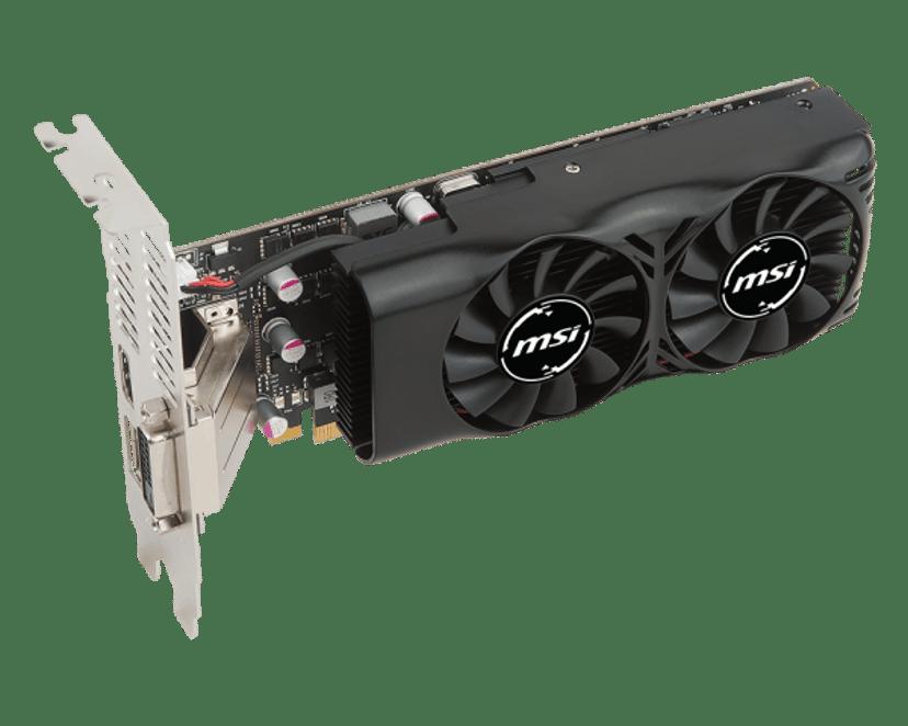 MSI GeForce GTX 1050 Ti Low Profile 4GB
