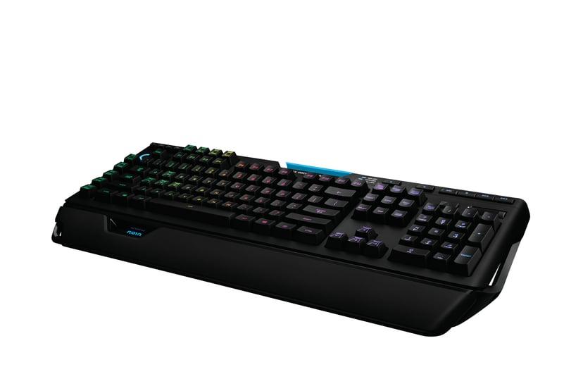 Logitech G910 Orion Spectrum Kablet Tastatur Nordisk Svart