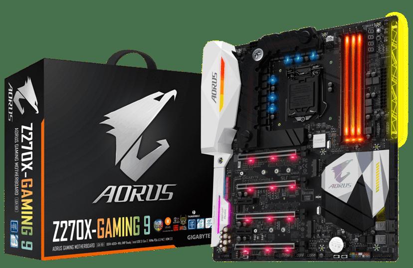 Gigabyte GA-Z270X Gaming 9