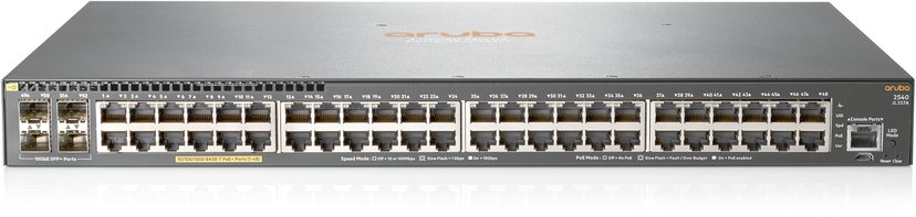 Aruba 2540 48G POE+ 4Sfp+ Switch