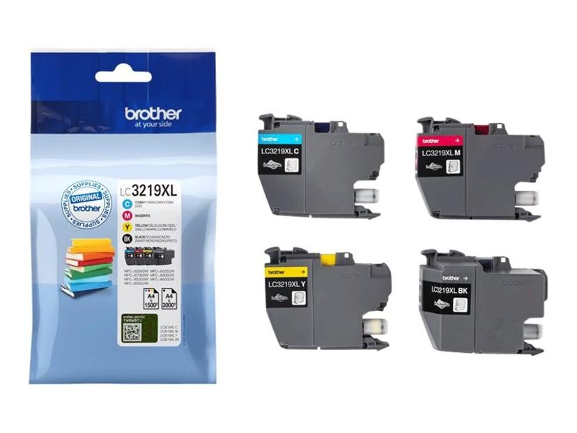 Brother Blæk Multipak XL (BK/C/M/Y) - MFC-J5330/MFC-J6930