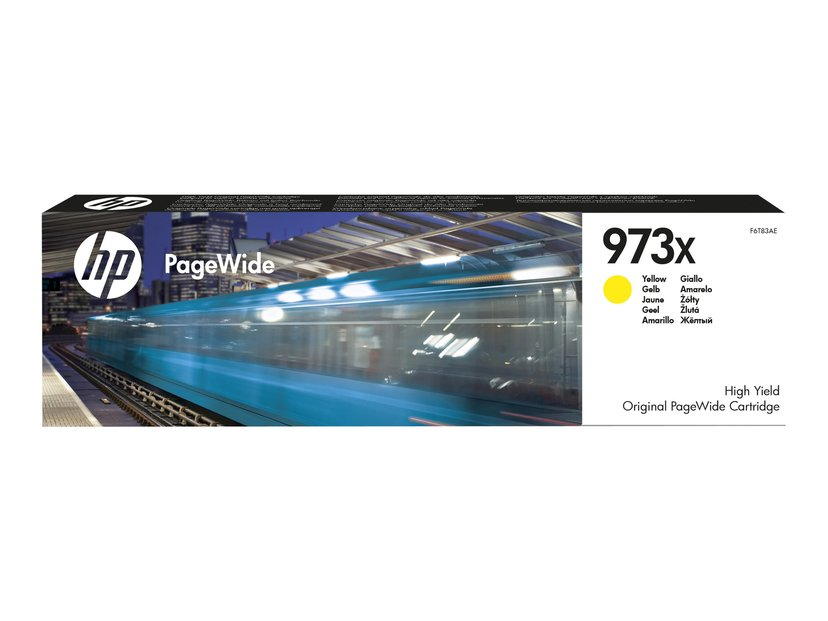 HP Blekk Gul No.973X 7k - PageWide #Köp