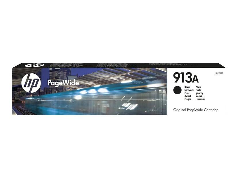 HP Bläck Svart No.913A 3.5k - PageWide 377/452/477/552 #Köp