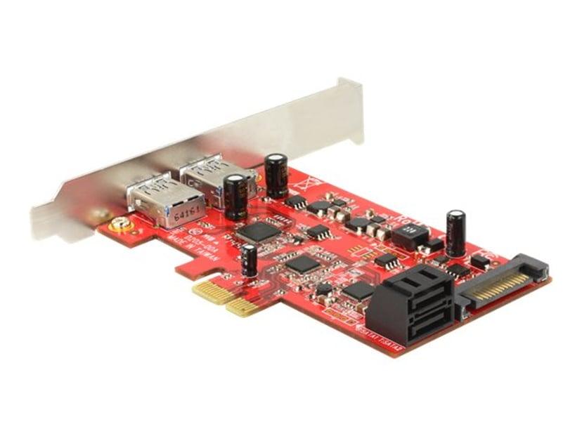 Delock lagring/USB3.0-styrenhet