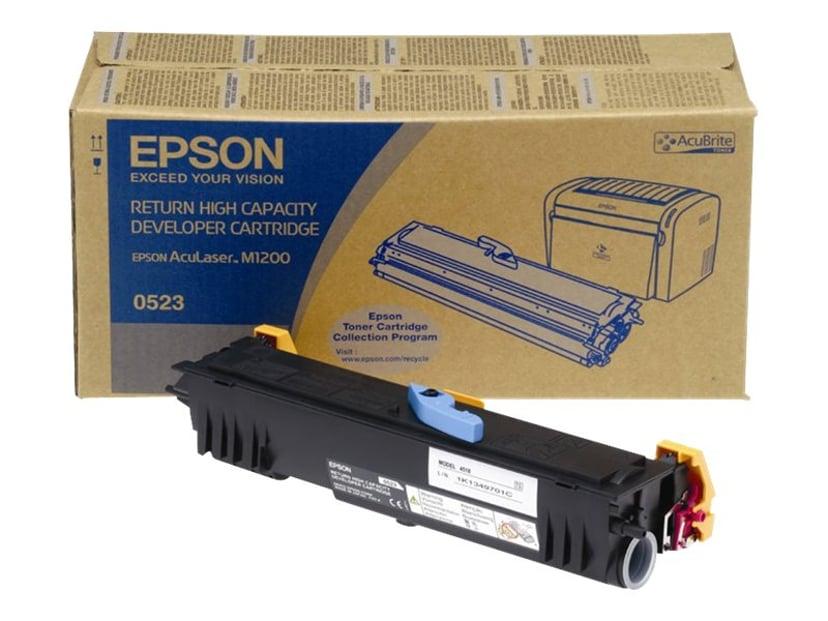 Epson Toner Svart HC 3,2k Return - M1200