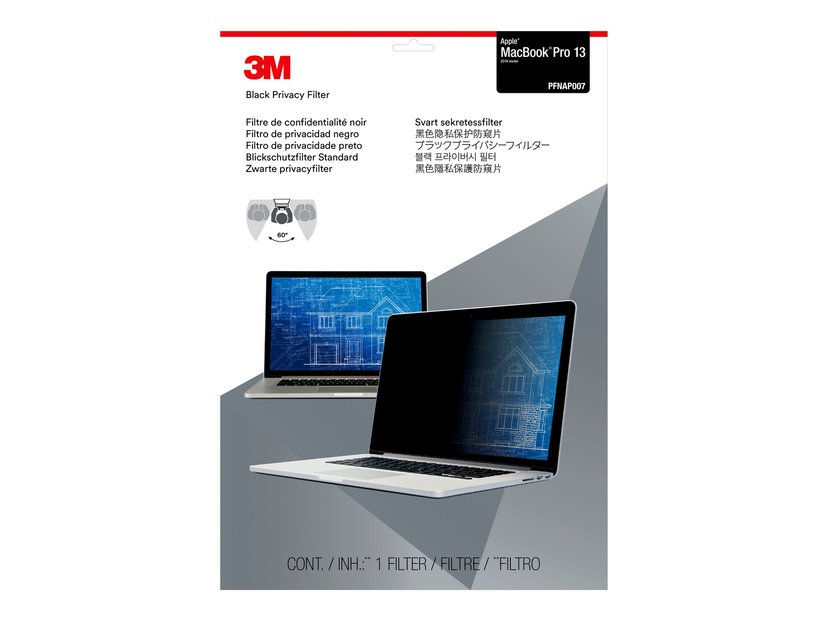 "3M Privacy Filter notebookpersonvernsfilter 13.3"" 8:5"