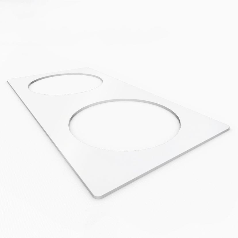 Kondator Powerdot Twin Metal Frame White