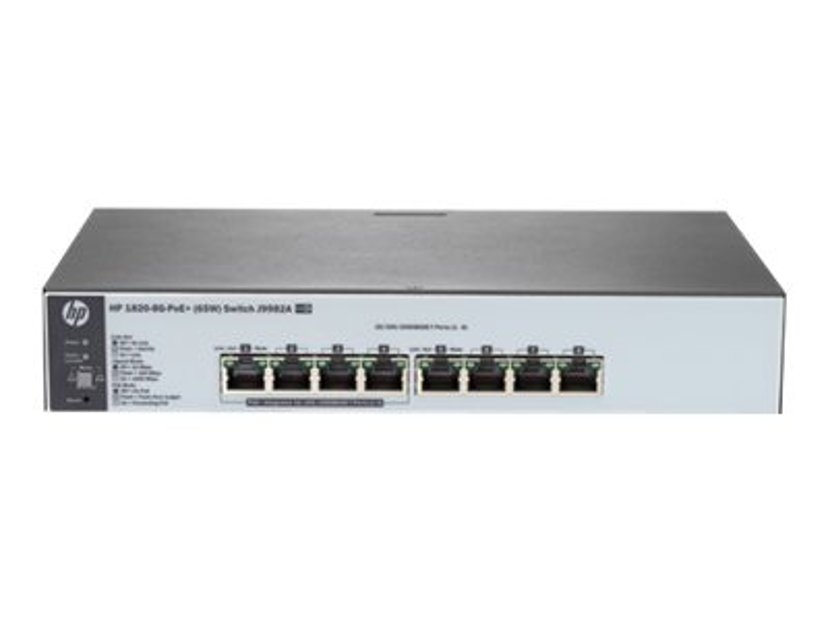 HPE OfficeConnect 1820 8G PoE+ 65W Web-mgd Switch