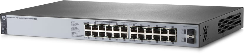 HPE OfficeConnect 1820 24xGbit, SFP PoE+ 185W Web-mgd Switch
