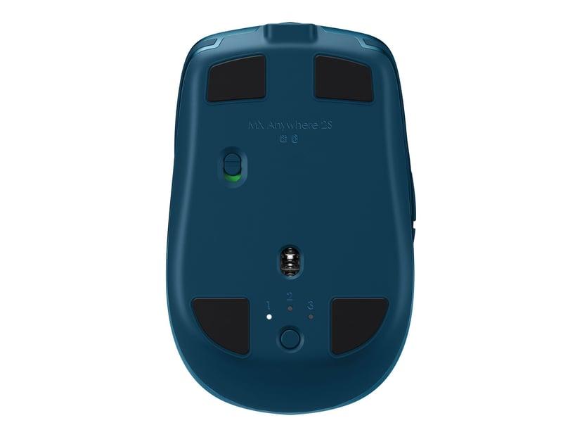 Logitech MX Anywhere 2S Blauw Muis Draadloos 4,000dpi