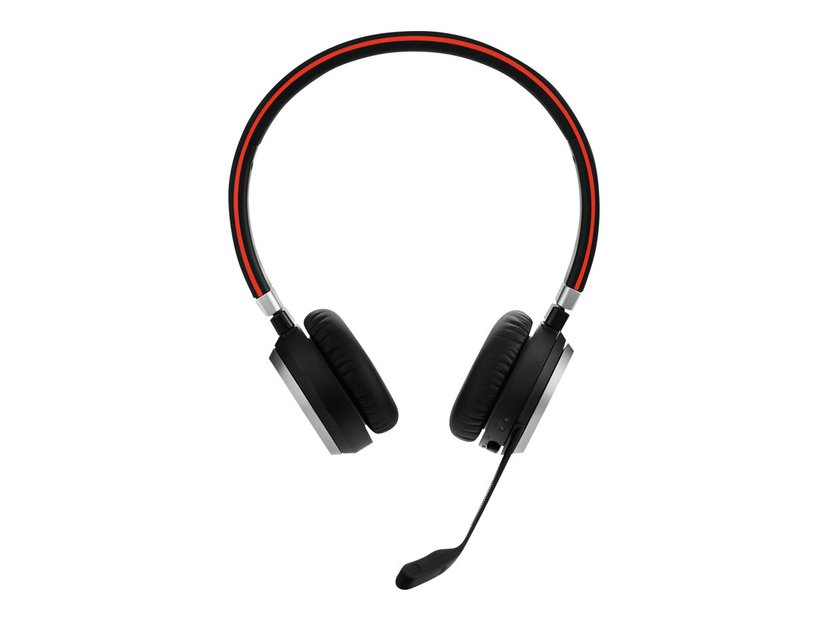Jabra Evolve 65 MS Stereo Incl. Charging Stand Svart