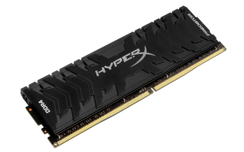 Kingston Hyperx Predator 8GB DDR4 3000MHz - Black 8GB 3,000MHz DDR4 SDRAM DIMM 288-pin