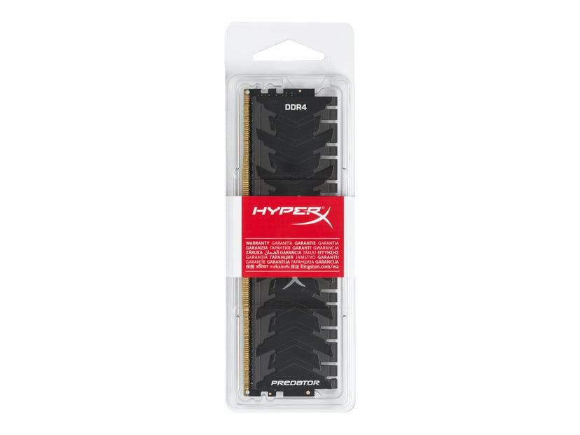 Kingston HyperX Predator 8GB 3,000MHz DDR4 SDRAM DIMM 288-pin