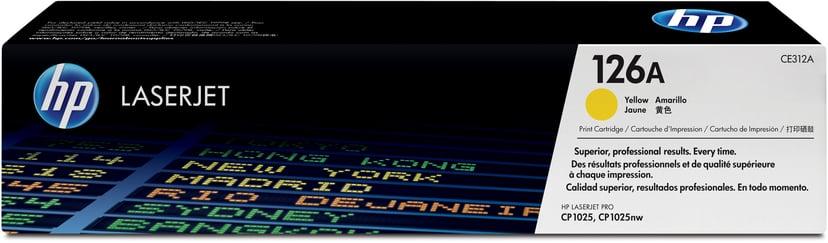 HP Toner Gul 1K - CE312A