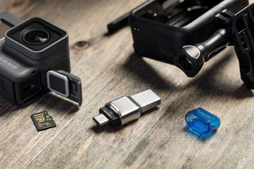 Kingston Mobilelite Duo 3C Micro-SD USB3.1-A/C