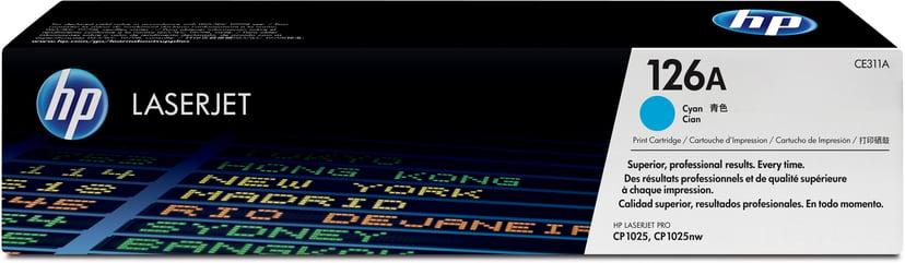HP Toner Cyan 1K - CE311A