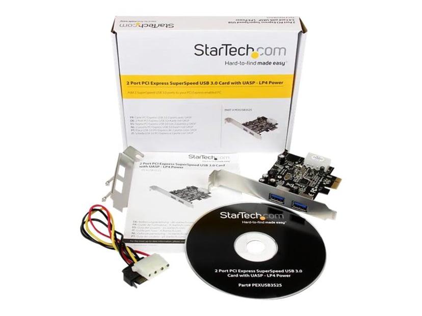 Startech 2 Port PCI Express (PCIe) USB 3.0 Card with UASP