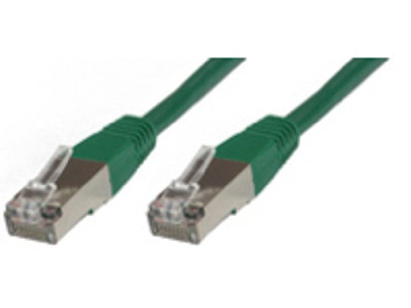 Microconnect Nätverkskabel RJ-45 RJ-45 CAT 6 10m Grön